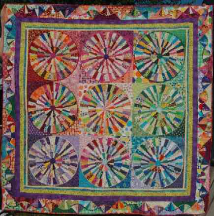 Polka Dotted Happiness 72 X 72When I Saw This Quilt On The Cover Of Quilters Newsletter Magazine Knew Had To Make It Its Called Everyday Best